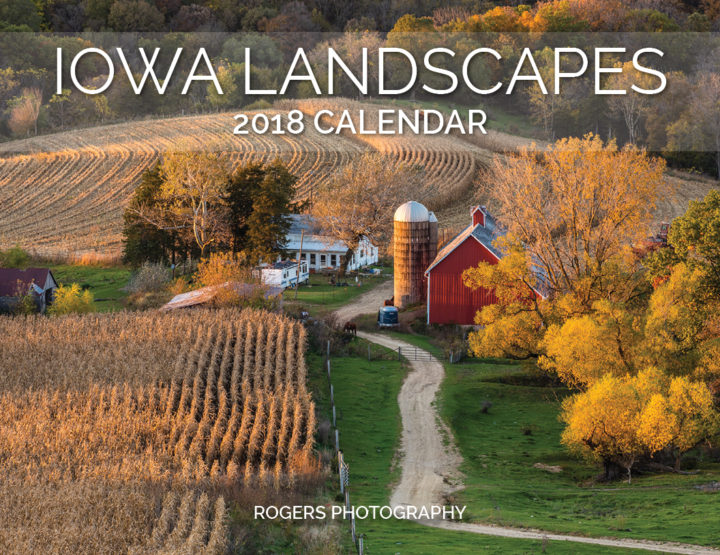 2018 Calendar: Iowa Landscapes